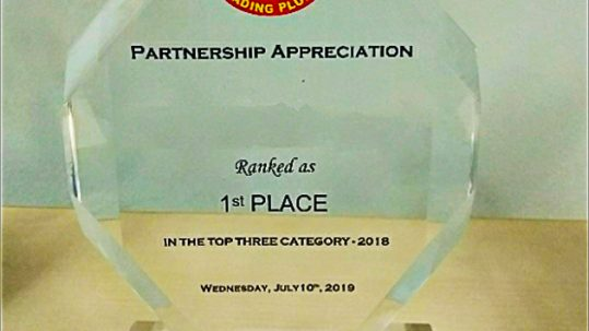 Gading Pluit 1st Place Partnership Award